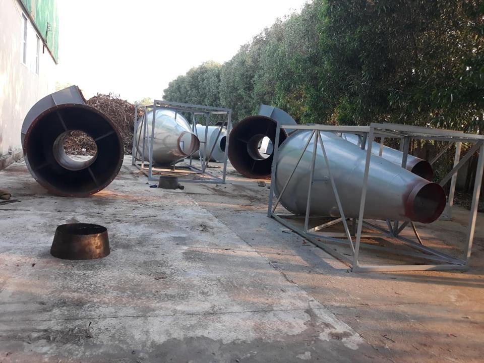 Hệ thống hút bụi gỗ, Lắp đặt tại Quảng Ngãi