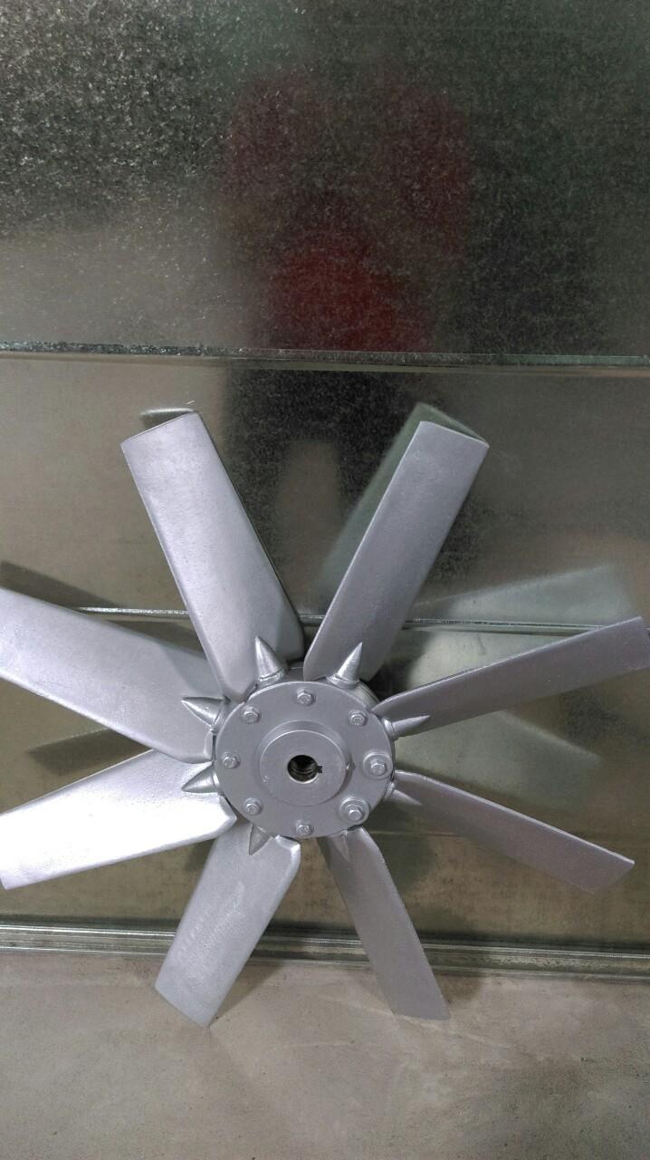 cánh quạt nhôm lò sấy hai chiều