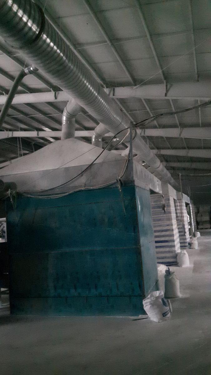 Hệ thống hút bụi xử lý bằng túi vải