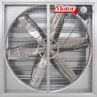 Hệ thông gió sử dụng màng nước Coolling Pad, Hệ thống thông gió, Hệ thống làm mát