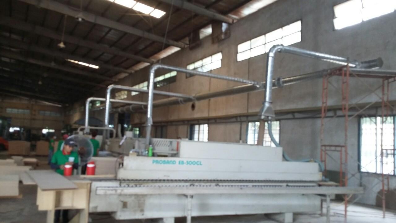 Hệ thống hút bụi xưởng gỗ - Lắp Đặt tại Cty Đông Châu