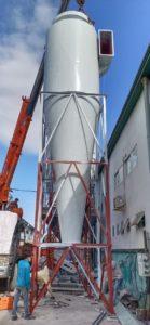 hệ thống hút bụi day chuyền sản xuất ván MDF
